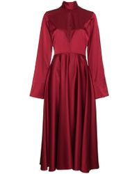 Beaufille - Maxi Dress With Flared Sleeves - Lyst