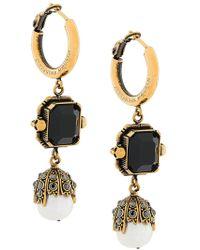 Alexander McQueen - Embellished Earrings - Lyst