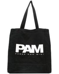 P.a.m. Perks And Mini - Logo Shopper Tote - Lyst