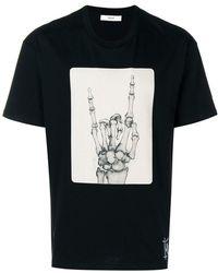 Bally - Funky Print Jersey T-shirt - Lyst