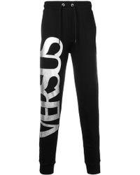 Versus - Pantalon de jogging à logo irisé - Lyst