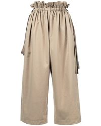 Astraet - Loose Fit Cropped Trousers - Lyst