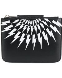 Neil Barrett - Lightning Bolt Wallet - Lyst