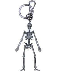 Alexander McQueen - Schlüsselanhänger mit Skelett-Verzierung - Lyst