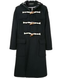 Undercover - Hooded Duffle Coat - Lyst