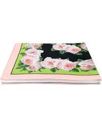 Dolce & Gabbana - Strandtuch mit Blumen-Print - Lyst