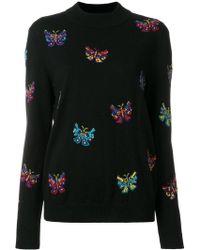 Jeremy Scott - Butterfly Pattern Jumper - Lyst