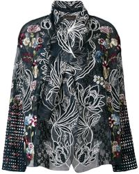 Biyan - Embellished Jacket - Lyst