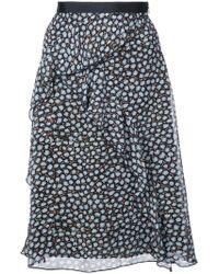 Dorothee Schumacher - Multi-print Ruffle Detail Skirt - Lyst