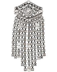 Sonia Rykiel - Crystal Embellished Brooch - Lyst