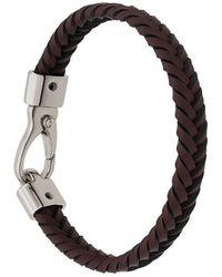 Tod's Geweven Armband - Bruin
