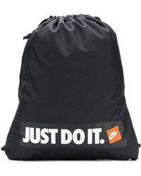 Nike - Branded Drawstring Backpack - Lyst