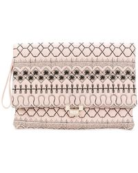 RED Valentino - Quilted Clutch Bag - Lyst