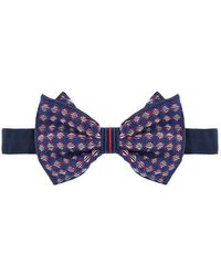Jupe by Jackie - Embroidered Bow Tie - Lyst