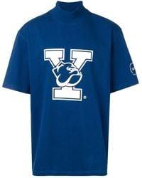 CALVIN KLEIN 205W39NYC - Oversized Yale Print T-shirt - Lyst