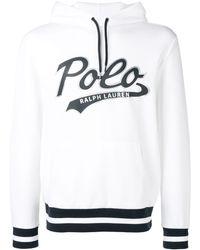 Polo Ralph Lauren Sweatshirt mit Logo - Weiß