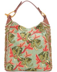 Jamin Puech - Beaded Embroidered Shoulder Bag - Lyst