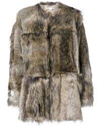 Stella McCartney - Fur Free Fur Elina Coat - Lyst