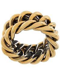 Ugo Cacciatori - Chain Detail Ring - Lyst