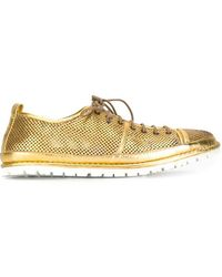 Marsèll | Metallic Lace-up Shoes | Lyst