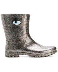 Chiara Ferragni - Glitter Rain Boots - Lyst