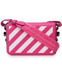 Off-White c/o Virgil Abloh Diagonal Striped Shoulder Bag
