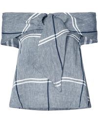 SUNO - Checked Top - Lyst