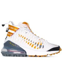 buy online 21d7a 5c8e8 Nike - White Air Max 270 Ispa High Top Sneakers - Lyst