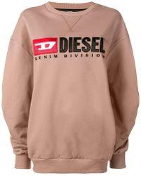 DIESEL - Denim Division Sweatshirt - Lyst