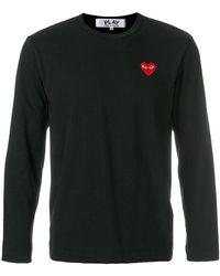 Play Comme des Garçons - T-shirt 'heart' - Lyst