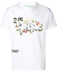 ce173f483776 Lyst - Off-White c o Virgil Abloh Contracting Printed T-shirt in ...