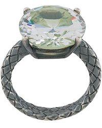 Bottega Veneta - Chamomile Cubic Ring - Lyst