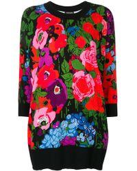 Twin Set | Floral Print Sweatshirt | Lyst