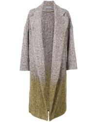 Dusan - Oversized Tie Dye Coat - Lyst
