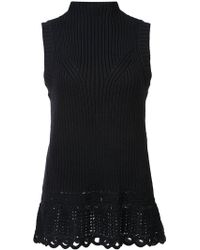 10 Crosby Derek Lam - Crochet Shell - Lyst