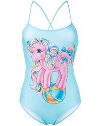 Moschino - My Little Pony Swimsuit - Lyst