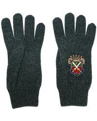 Dolce & Gabbana - Heraldic Sicilia Gloves - Lyst