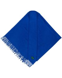 Burberry - Cashmere Embroidered Logo Bandana - Lyst