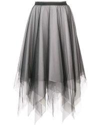 Marc Le Bihan - Asymmetric Full Skirt - Lyst