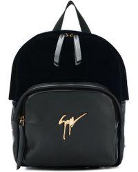 Giuseppe Zanotti - Logo Plaque Backpack - Lyst