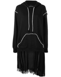 Marco Bologna - Embellished Hoodie Dress - Lyst