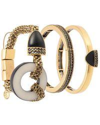 Camila Klein - Magnet Three Bracelts Set - Lyst