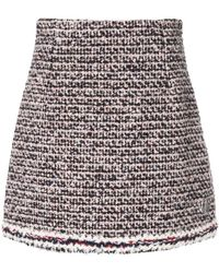 Moncler - Knitted Mini Skirt - Lyst