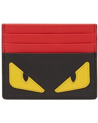 Fendi - Color Block Card Holder - Lyst