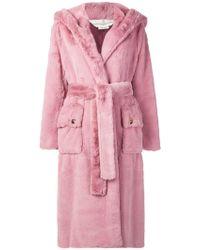 Golden Goose Deluxe Brand - Oversized Hooded Coat - Lyst