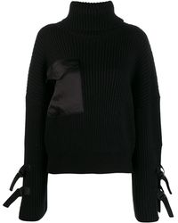David Koma Roll-neck Jumper