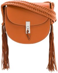 Altuzarra - Tassel Flapped Shoulder Bag - Lyst