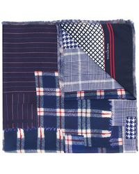 Pierre Louis Mascia - Plaid Scarf - Lyst