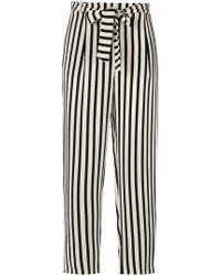 Chinti & Parker - Striped Cropped Trousers - Lyst