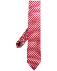 Ferragamo - Gancio Pattern Tie - Lyst